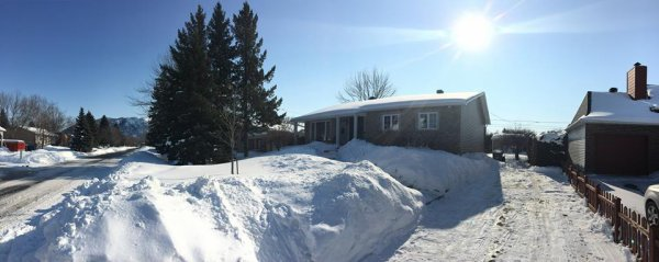 Une belle journée d'hiver au Québec
