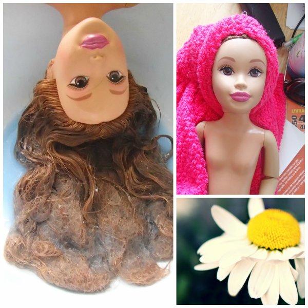 Cure de rajeunissement pour cette poupée Teen Trends