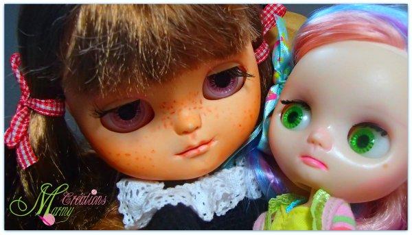 Yvi à enfin rejoint sa grande soeur Rosie