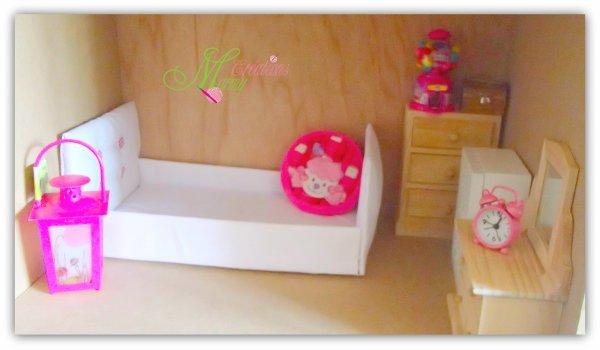Et voici la future chambre des filles...