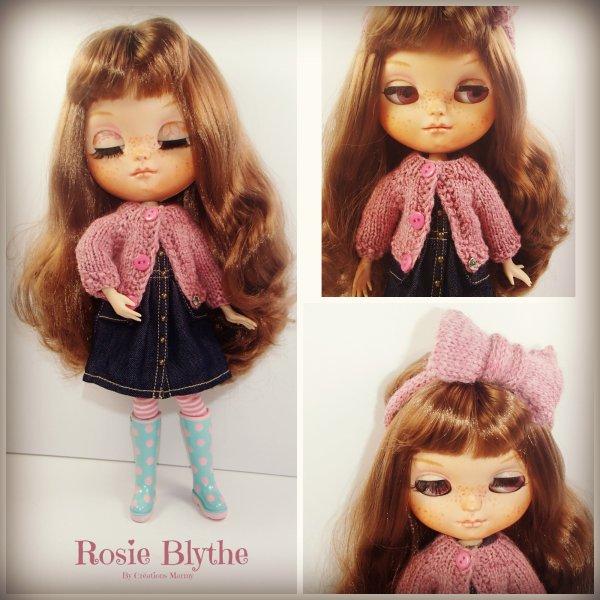 Rosie en petite tenu lol