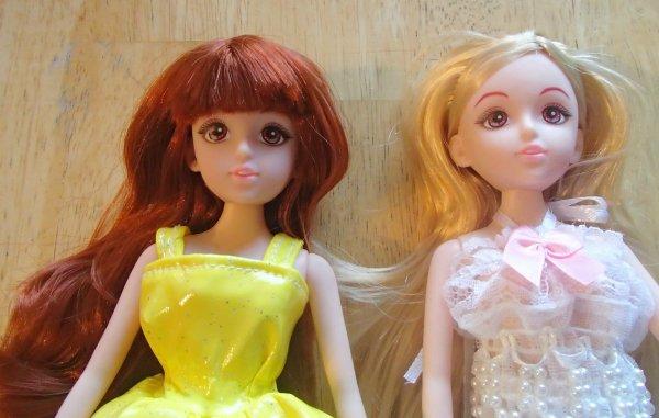 2 nouvelles pour ma collection de poupées
