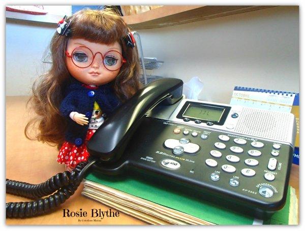 Rosie et Yvi au bureau des chiropraticiens de St-Hyacinthe