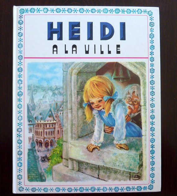 heidi  Illustrations Marie-José Maury (1973)
