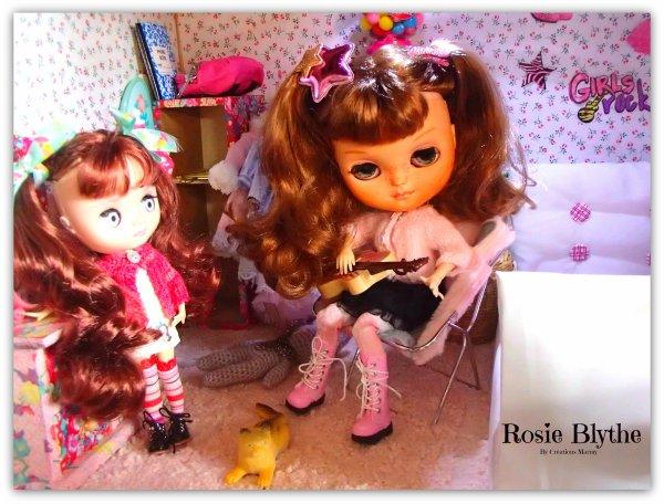 Rosie et Yvi
