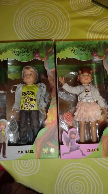 Maman à reçu mes poupées Kruselings de chez un Bonheur de Colibri