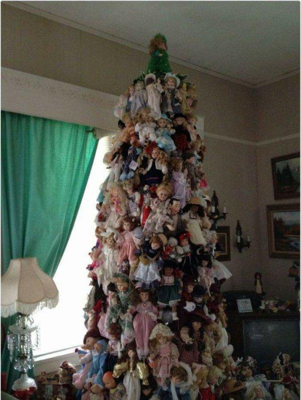 Avez vous déjà fait votre sapin de Noël ! celui-ci n'est pas le mien