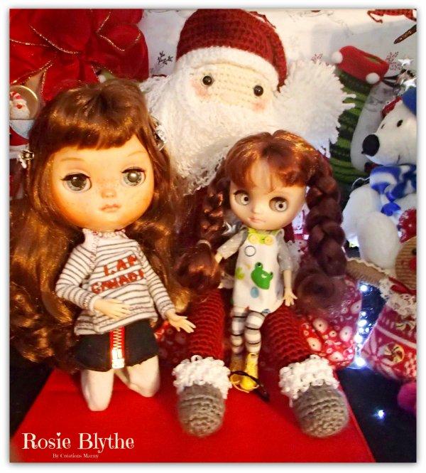 Rosie et Yvi dans la neige