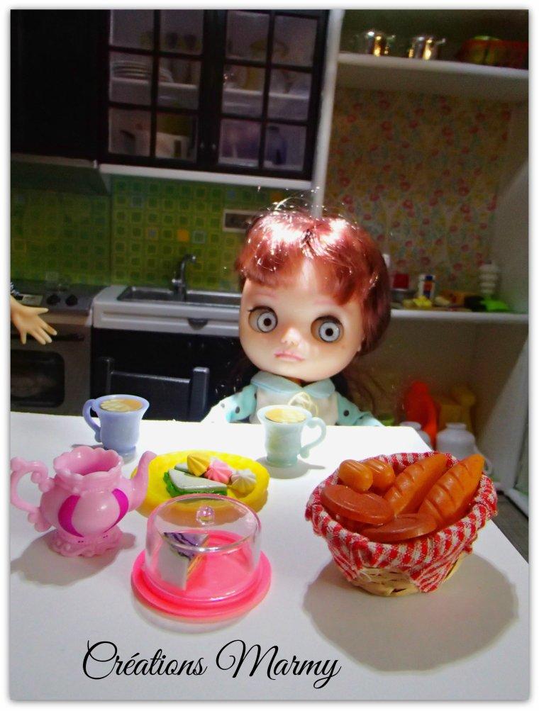 Petit déjeuner des filles !