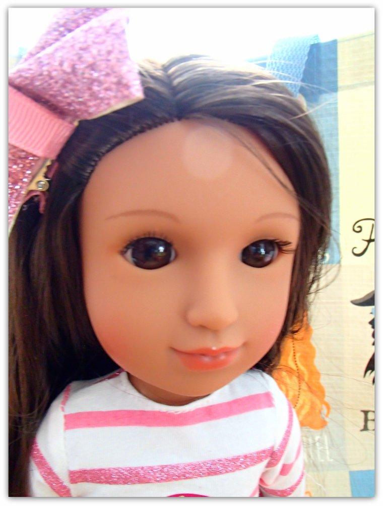 Glitter Girl une petite nouvelle dans ma collection