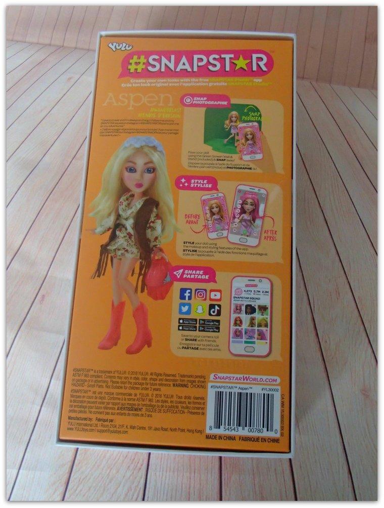 Poupée Snapstar pour Snapchat !