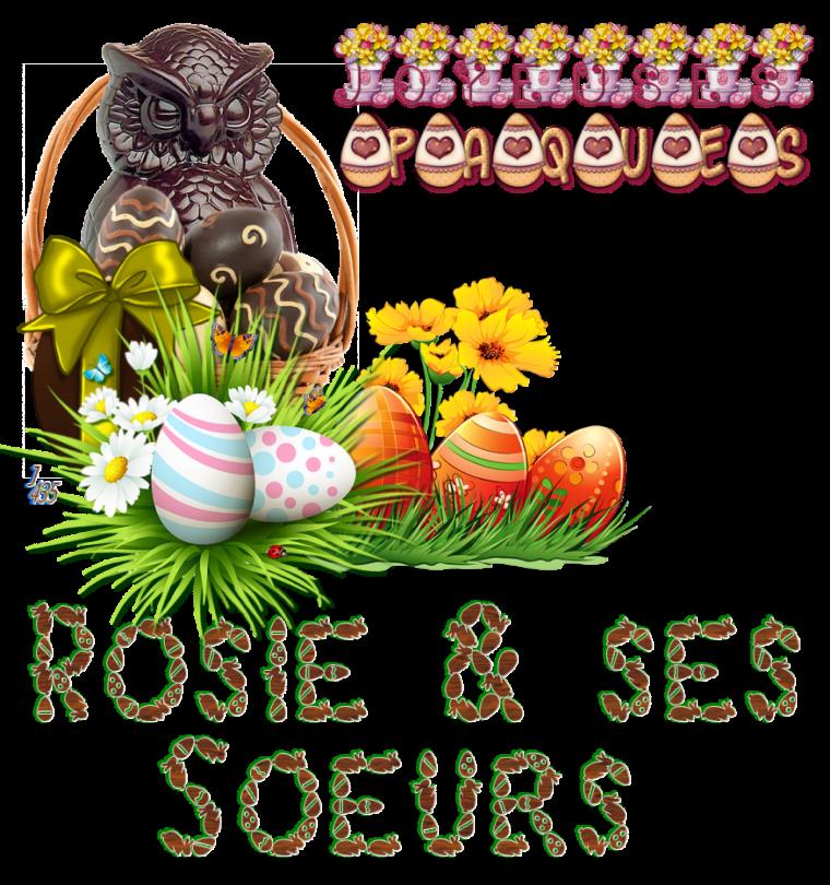 Merci Jacotte et Joyeuses Pâques
