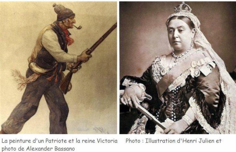 Fête de la Reine ou des patriotes ?