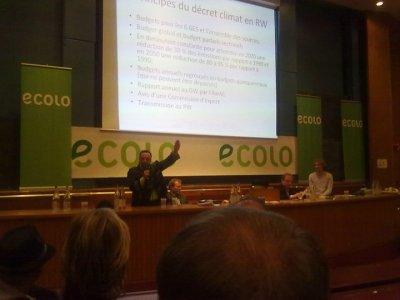le 16.11.2010 conferance contre le réhauffement climatique