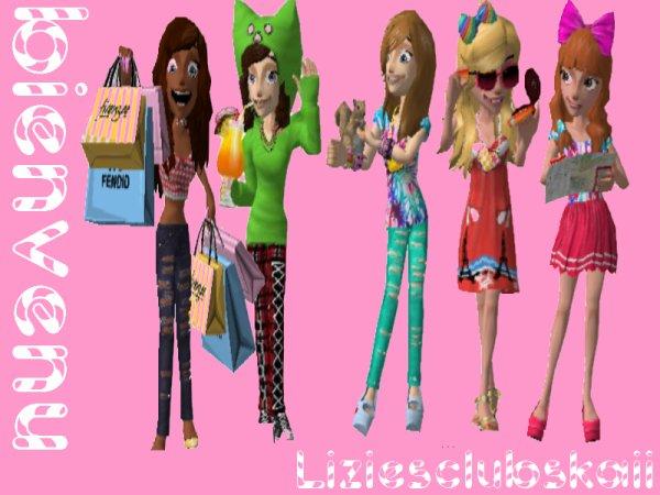 Bienvenu dans le club Lizzies Club