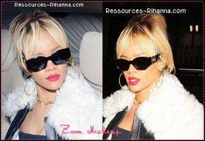 La version complète de Birthday Cake feat CHRIS BROWN ( Perso , j'adore ) ! + Rihanna de sortie à Londres + Rihanna qui sort de son Hotel à Londres ! Oui Riri sort beaucoup ^^