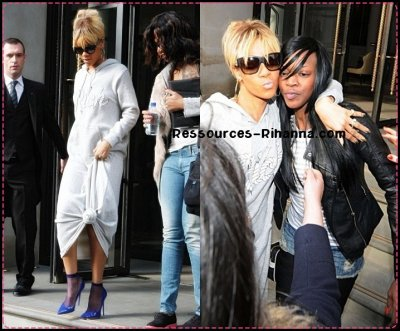 La version complète de Birthday Cake feat CHRIS BROWN ( Perso , j'adore ) ! + Rihanna de sortie à Londres + Rihanna qui sort de son Hotel à Londres ! Oui Riri sort beaucoup ^^