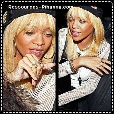 Rihanna aperçue sur un Tournage + Rihanna dans sa voiture à Londres !