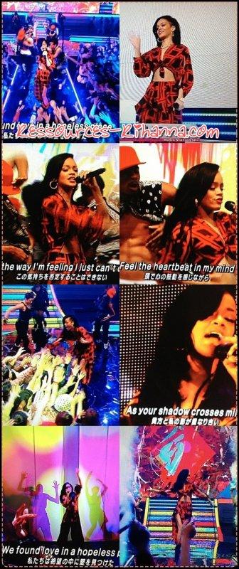 Clip de 'Take Care'  +  Performance de Rihanna à l'émission Japonaire 'music station' .