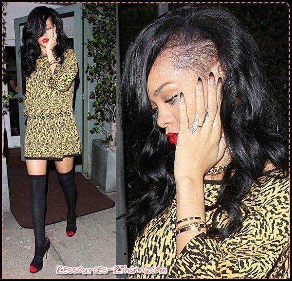instagram de Rihanna + Rihanna dans les rues de Sydney  + Rihanna au restaurant Giorgio Baldi.