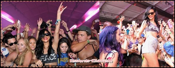 Rihanna au Coatchella music Festival +photos pour 'Where Have You Been' + 2 vidéos des coulises de 'Where Have you been' .