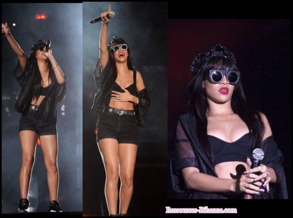 Rihanna sortant de son hôtel à Londres + Vidéo de la performance de Rihanna avec Jay-z