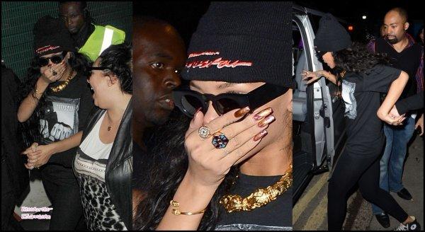 Vidéo promotionelle de l'émission de Rihanna 'Styled to Rock' + Rihanna quitte le club 'Jalouse' à Londres