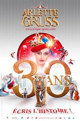 Cirque arlette gruss ( 30 ans ) !