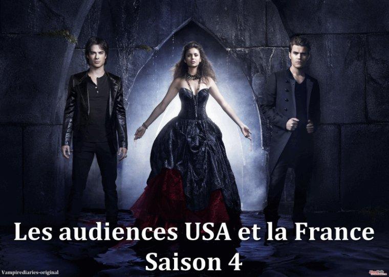 Les Audience de la saison 4