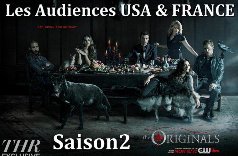 Les audiences de la saison 2