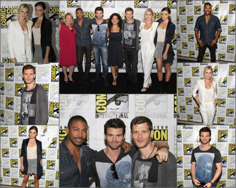 Comic Con 2013 – Photos et interviews du cast sur le tapis rouge