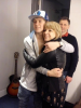 -Niall & la maman d'Olly Murs hier ♥