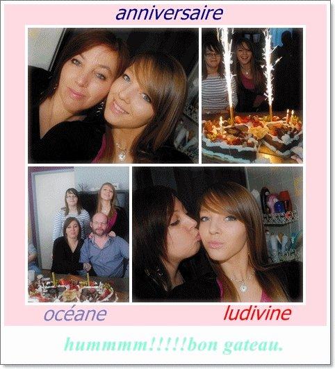 anniversaire de ma lulu et de ma puce océane