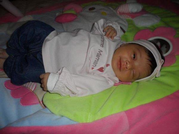 notre petite princesse SAFFIYA.