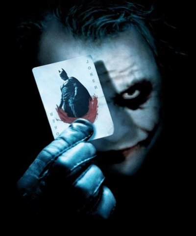 Le joker de The dark night
