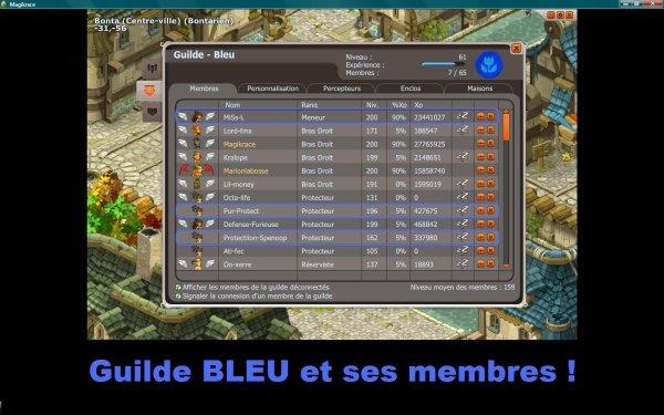 Le guilde Bleu