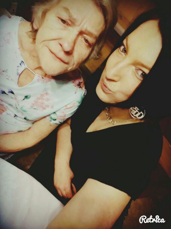 Ma mamy et moi