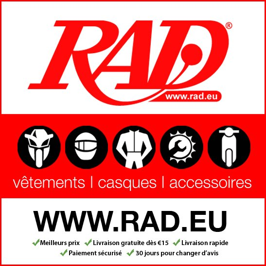Sponsor officiel RAD