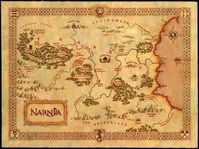 Carte de Narnia