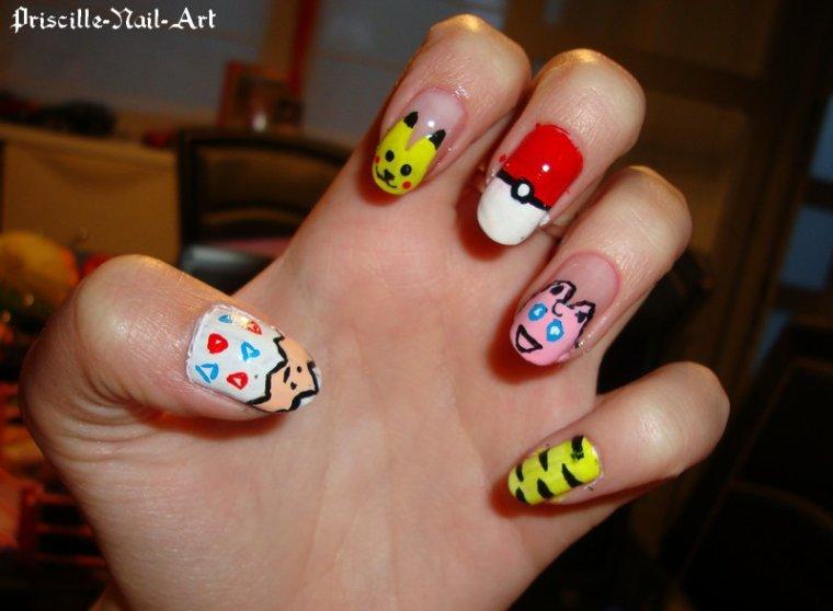 Nail Art Pokémon