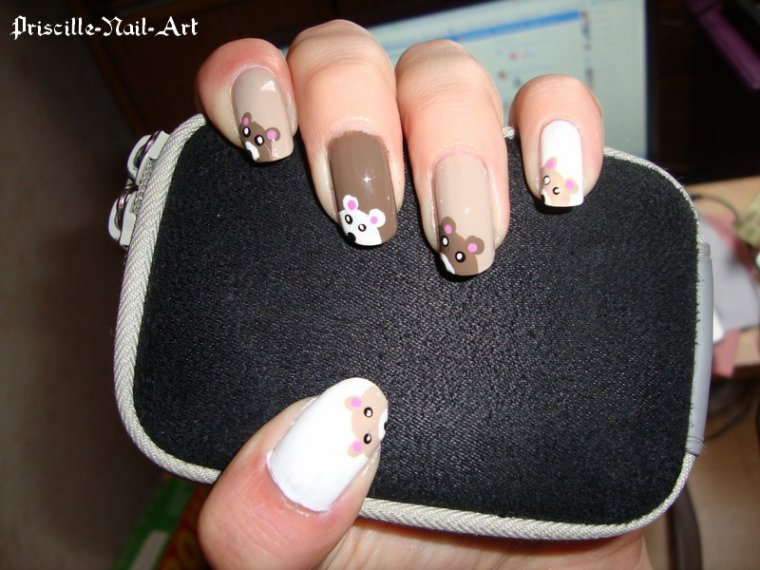 Nail Art Ours
