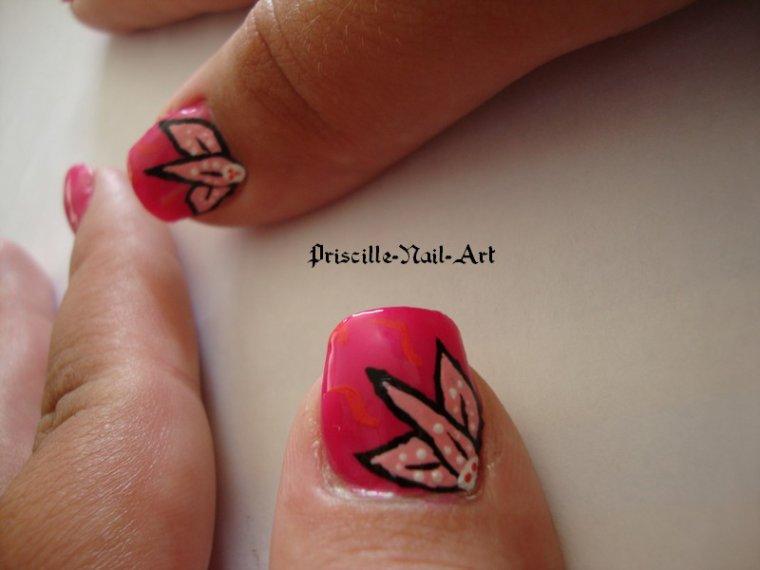 Nail Art Belles Fleurs