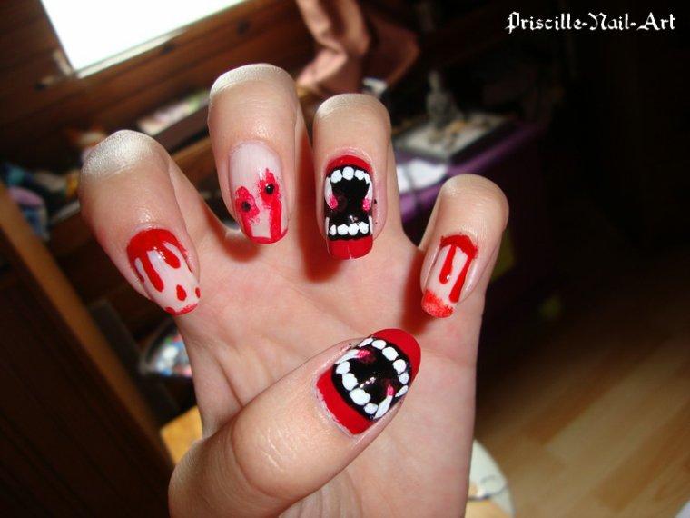 Nail Art Vampire