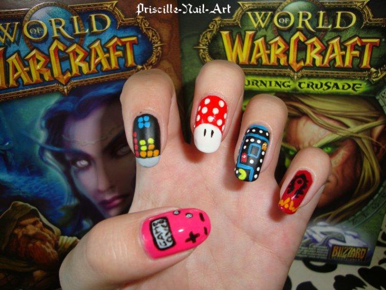 Nail Art Jeux Vidéos