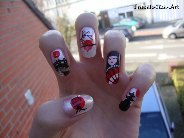 Nail Art Japon