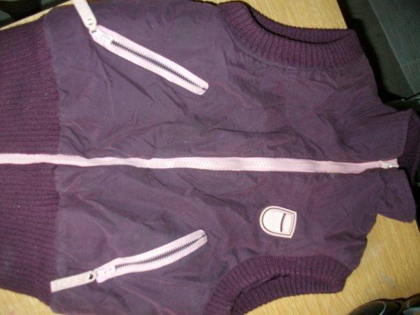 Doudoune violette ( 8ANS ) : 15euro