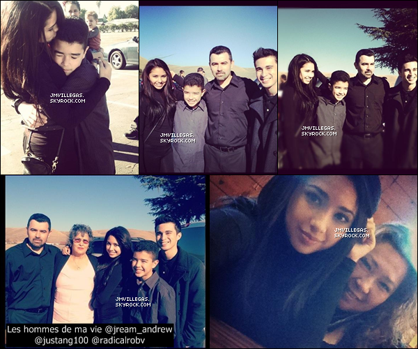 . Jasmineau funéraille de son grand-père le 26 novembre avec son père, Jream, Justin et sa maman. + Quelques photos de Jasmine sur le tournage de Paint A Smile, son nouveaux clip et une photos Instagram de la belle.. .