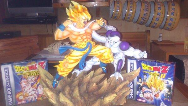 diorama son goku vs freezer