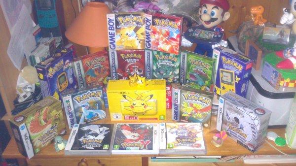 Une petite collection pokemon :3