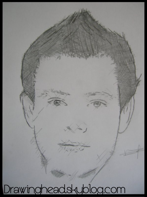 #29. Finn Hudson (Cory Monteith) Glee Cast.